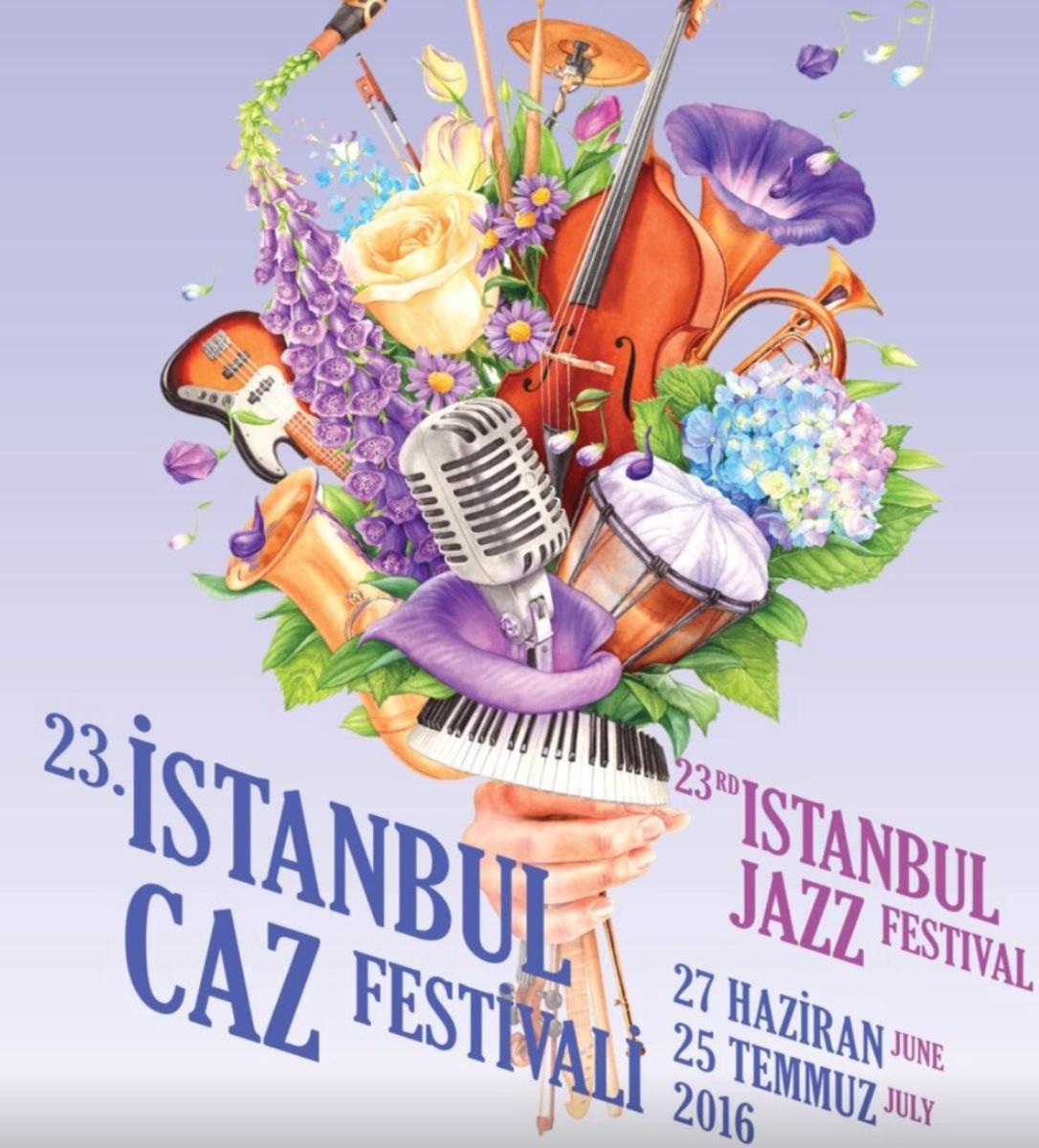 23. İSTANBUL CAZ FESTİVALİ Başlıyor! (27 Haziran-25 Temmuz 2016)