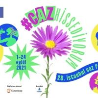 28. İSTANBUL CAZ FESTİVALİ (1-24 Eylül 2021 - Caz hissediyorum!)